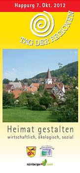 Faltblatt Tag der Regionen 2011
